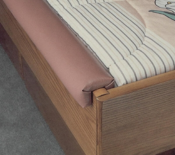 2 Way Hardside Waterbed Padded Rails