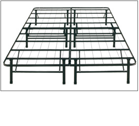 Platform Bed Frame and Foundation Combination
