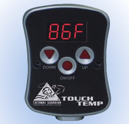 Softside Waterbed Heater Thermal Guardian Touch Temp Heater