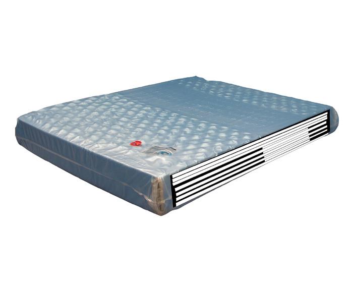 Strobel Organic Waterbed Mattress Hydro-Support 1900dw Double-Wall
