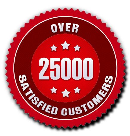 Over 25000 Satisfied Waterbed Bargains Customers