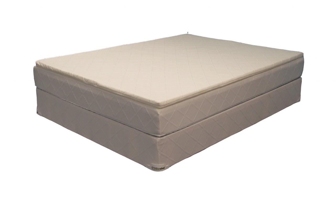 Strobel Organic Complete Softside Waterbed Futura 15 Dual