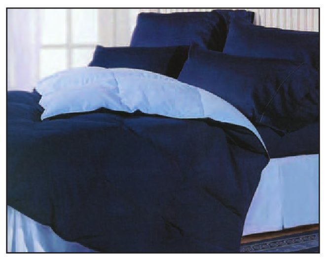 Convertible 2 Tone Dual Sided Comforter