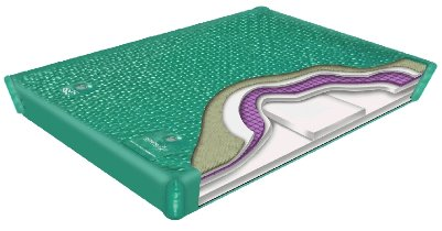 Fluid Chamber Series 950 Deep Fill Softside Waterbed Bladder by Innomax